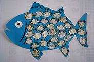 御礼の言葉がいっぱい詰まった魚