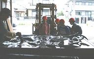 静岡市立中田小学校 見学の様子